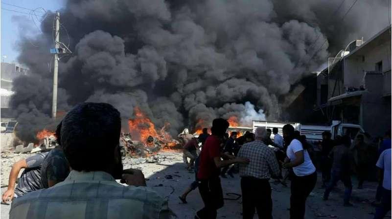 انفجاری بزرگ شمال حلب سوریه را لرزاند