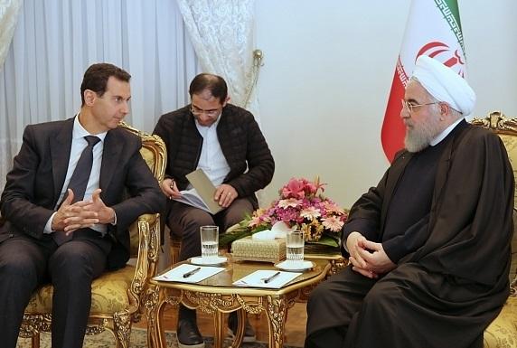 جنجال در سوریه بر سر نبود پرچم این کشور در جریان استقبال از اسد در ایران