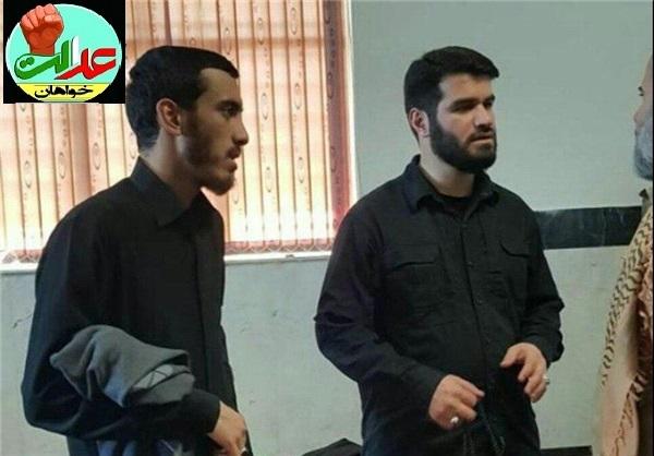 مداحان اهل بیت(ع) در مناطق زلزلهزده کرمانشاه+تصویر