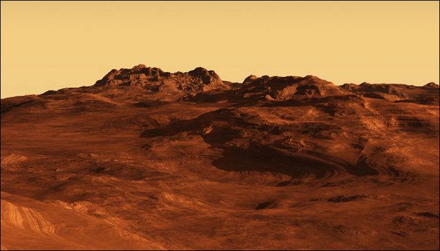 عکس عجیبی که از مریخ تهیه شده است!