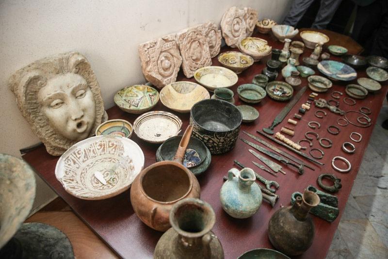 دستگیری سارقان اشیای تاریخی 700 ساله