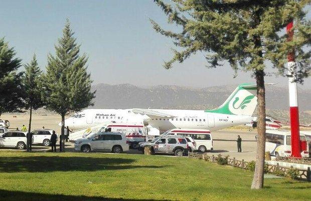 تعطیلی فرودگاه یاسوج تا دوماه/اجرای پروژه تطویل باند علت تعطیلی