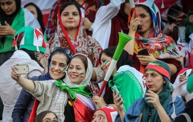 بانوان پرشور، ملیپوشان قدردان و تلاش ناکام برای فتنهگری+تصویر