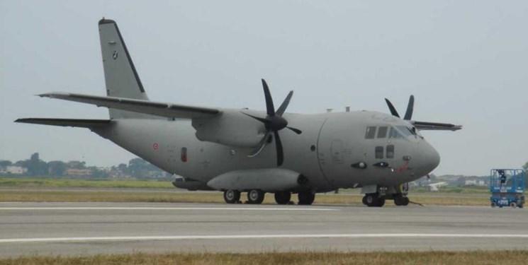 منطقه دیگر برای پرواز هواپیمای آمریکایی امن نخواهد بود/سقوط: یک فروند دیگر هواپیمای ترابری نظامی آمریکا+عکس