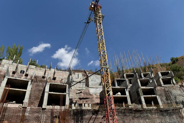 عکس/تخریب ساختوسازهای غیرمجاز در دهستان لواسان بزرگ