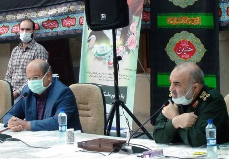 سردار سلامی: تمام ظرفیتهای قرارگاه ثارالله در اختیار عملیات مقابله با کرونای تهران قرار میگیرد