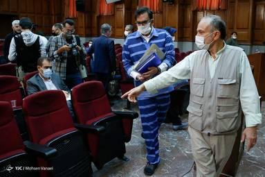 ششمین جلسه رسیدگی به اتهامات محمد امامی و ۳۳ متهم دیگر+گزارش تصویری