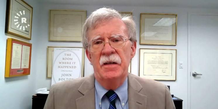واکنش بولتون در مقابل پیشنهاد حکومت نظامی در ایالت های کلیدی امریکا
