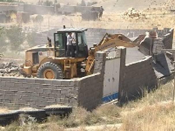 صدور حکم قلع و قم ۳۰ مورد ساخت و ساز غیر مجاز در گالیکش