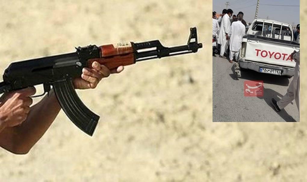 انفجار گروهک تروریستی وابسته به استکبار جهانی در یکی از میادین شهرستان سراوان +عکس
