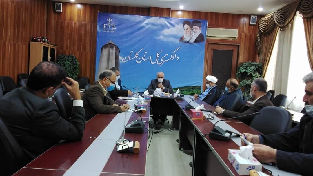 در دیدار اعضای خانه احزاب استان با جانباز دکتر هادی هاشمیان رئیس کل دادگستری گلستان چه گذشت؟