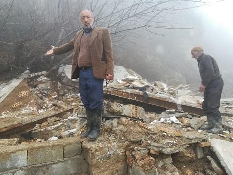 رانش زمین در مناطق کوهستانی  مینودشت جان دختر 8 ساله را گرفت و خسارات مالی و جانی دیگری به گلستان تحمیل کرد