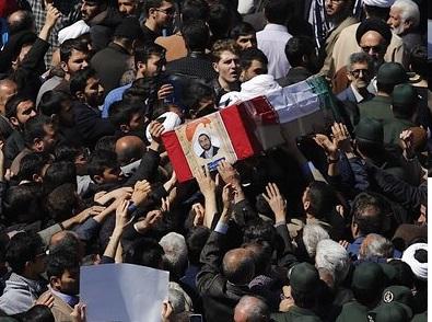 گزارش تصویری از مراسم با شکوه تشییع پیکر طلبه همدانی