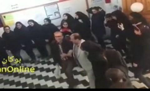 سونامی رقص در مدارس ادامه دارد/ رقص کردی معلمان مرد و دانش آموزان دختر در مدرسه! + فیلم